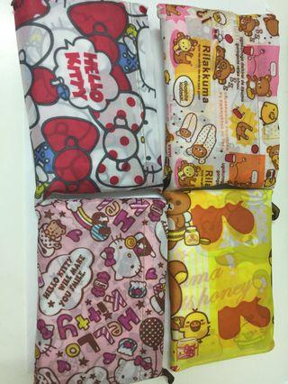 🚚 [1 for $5] Rilakkuma/my melody/Snoopy Recyclable Bag