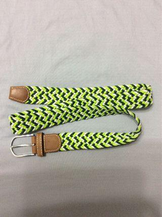 Braided Green Belt