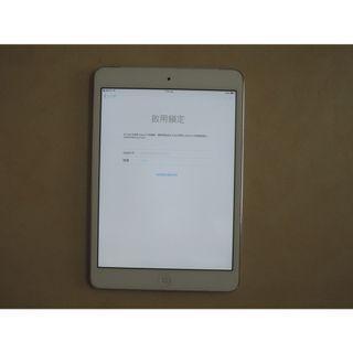 Apple iPad mini A1455 ID鎖 Wi-Fi + 行動網路 零件機 平板