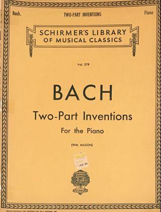 Bach Two-Part Inventions