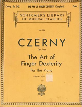 Czerny Op740 Art of Finger Dexterity