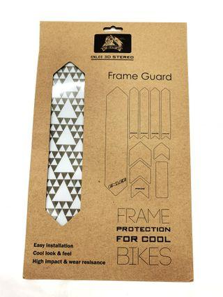 Brand New 3D Structure Sticker for Bicycle Frame