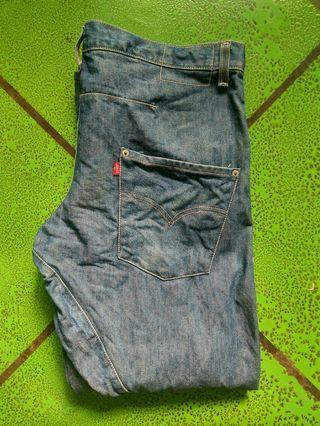 Deadstock Levi's engineered denim jeans