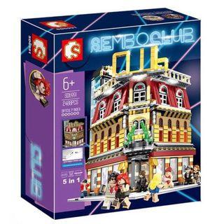 **With Lighting, Ready Stock** Sembo SD6991 : Sembo Club House