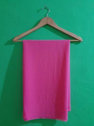 #BAPAU Pashmina Rabbani Pink
