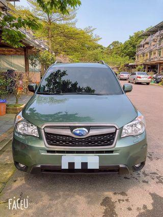 2015年Subaru forester森林人休旅車