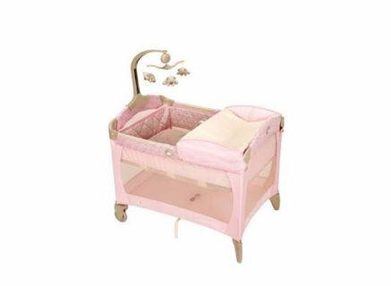 Graco Play Pen Pink
