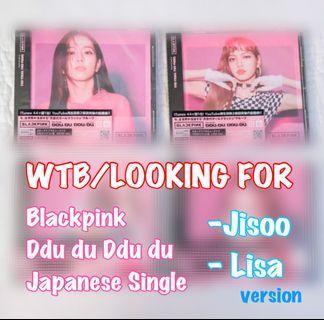 [WTB] Blackpink Ddu Du Ddu Du Japanese Single Album