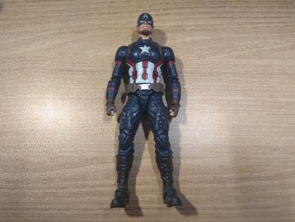 歡迎合理議價 Marvel Legends Captain American 美國隊長 Civil War 復仇者內戰(不是marvel select shf mafex mezco revoltech comicave studio figma NECA)
