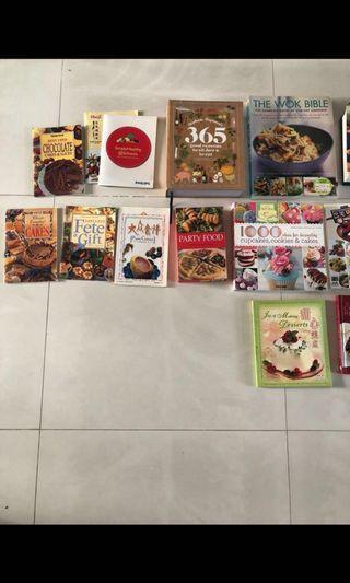 🚚 Cookbooks and baking books