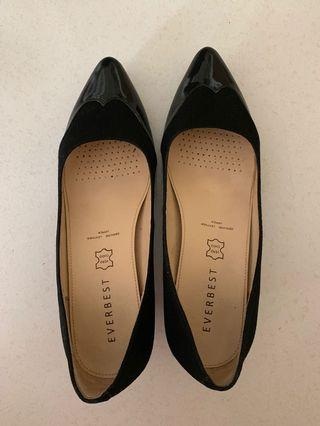 Everbest black heels size 39