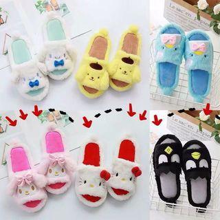 Instocks bedroom slippers hello kitty design