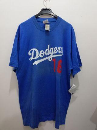 Vtg 1995 Majestic Dodgers #16 Nomo Shirt