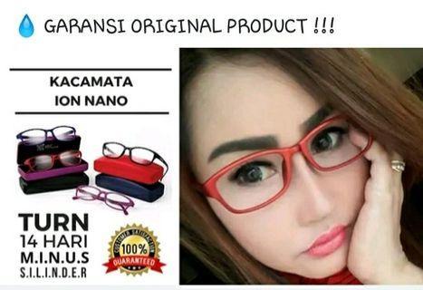 Kacamata kesehatan K-ion NEW