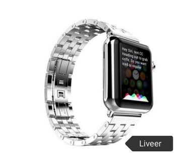 Free Mailing - Instock Apple Iwatch Stainless Steel New Liveer Brand