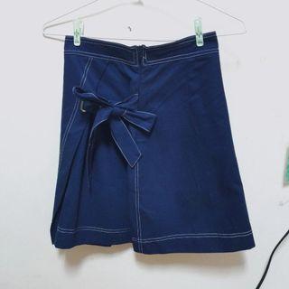 全新!!!PSGB 綁帶短裙 A字裙 #半價衣服拍賣會