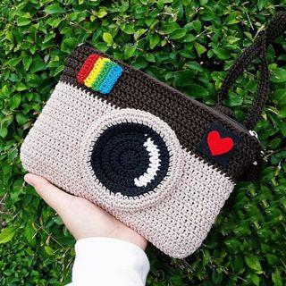🚚 Instagram Handmade Crochet Pouch