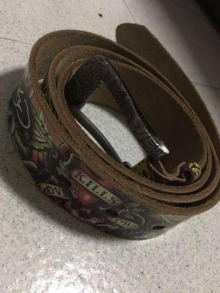 🚚 Ed Hardy Authentic Belt