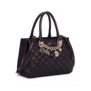 Authentic Guess lingger charm satchel Bag