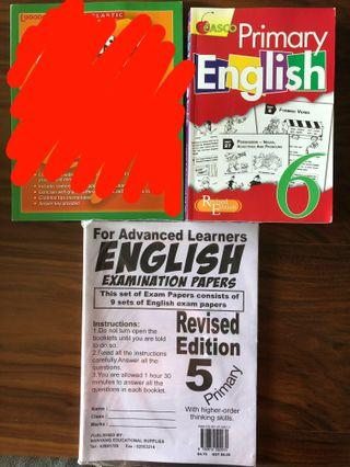 English Assessment Books
