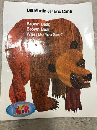 🚚 Brown Brown Brown Bear softcover book