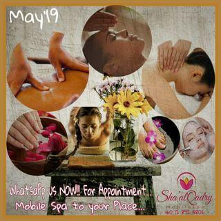 Mobile Spa May Special Deals'19