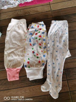 Baby Long Pants & panties skirt