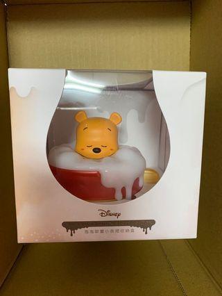 🚚 迪士尼 維尼 泡泡小夜燈收納盒