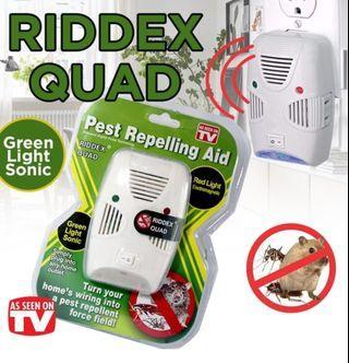 Riddex Quad Pest排斥昆蟲大鼠驅避器