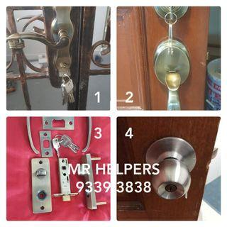 Locksmith and all locks services Call : 93393838 Mr HELPERS