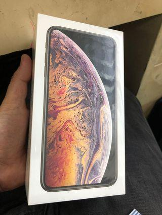 NEW IPHONE XS MAX 64GB GOLD MYSET SEALBOX