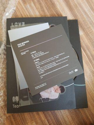 Wts bts ly tear album O ver ( sold )