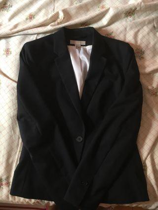 H&M Dark Suit Jacket