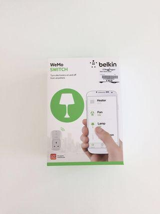 BN Belkin Wemo Switch turn on/off via your phone