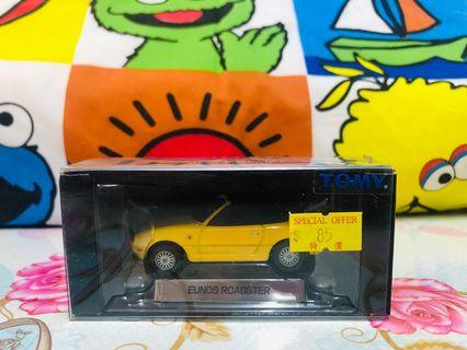 tomica litmed mx5 roadster yellow
