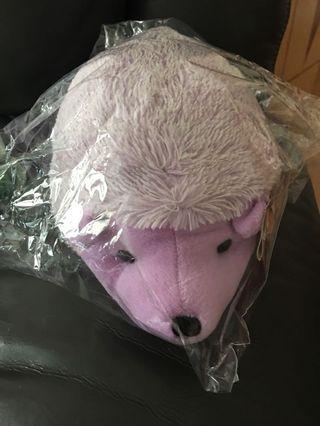 箭豬公仔(紫色)