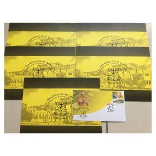 Sambutan Ke Tahun Sultan Pahang Folder (Stamp)