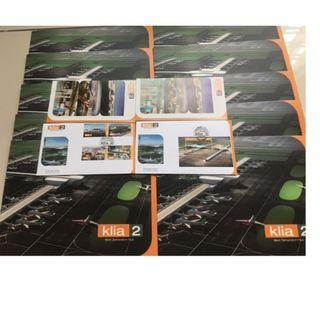 KLIA 2 Next Generation Hub Folder (Stamp)