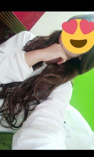 Rental / Sewa rambut palsu/ large..