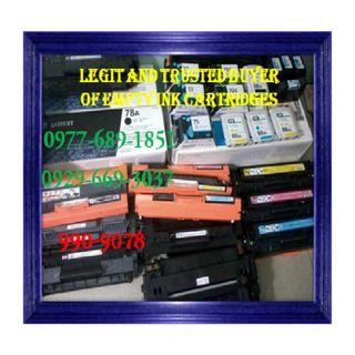 Legal Buyer of Empty Ink Cartridges and Toners