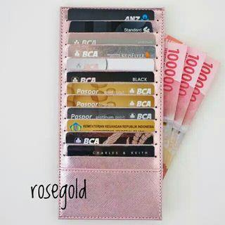 Card Holder Rose Gold 24 Slot