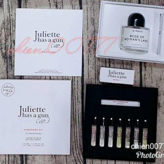 二手Juliette Has a Gun Discovery Box 只有7支 x 1.7ml 只試過一次香 售700元不含運