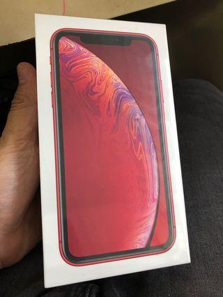 NEW IPHONE XR 128GB RED MYSET SEALBOX