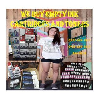 Highest Price Buyer of Empty and Sealed Cartridges and Toners