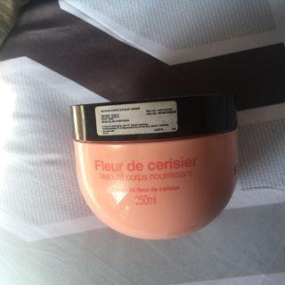 Sephora Cherry Blossom Velvet body lotion