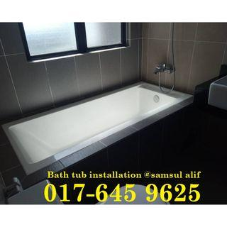 Bath tub installation 017-645 9625 samsul alif