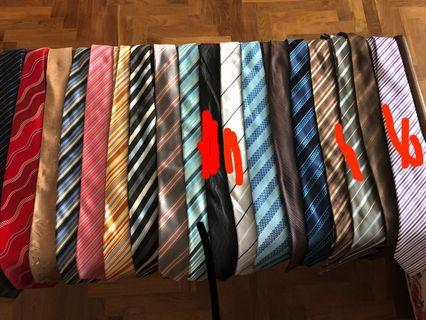 Assortment of ties