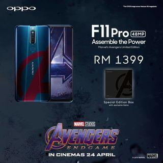 OPPO F11 PRO AVENGERS LIMITED