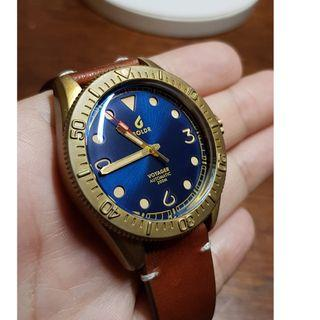 BOLDR VOYAGER - 黃銅 復古 潛水錶 機械錶 青銅 銅錶(9成9新)