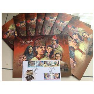 Cerita Legenda Melayu Folder (Stamp)